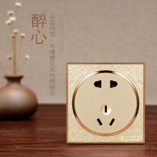 惠州西门子G06圆形系列金色